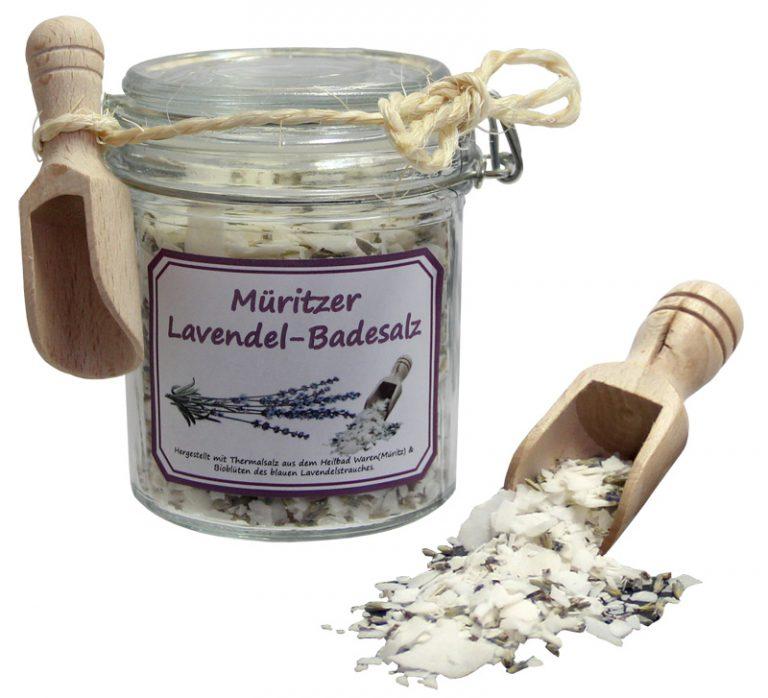 Müritzer Lavendelbadesalz 150ml