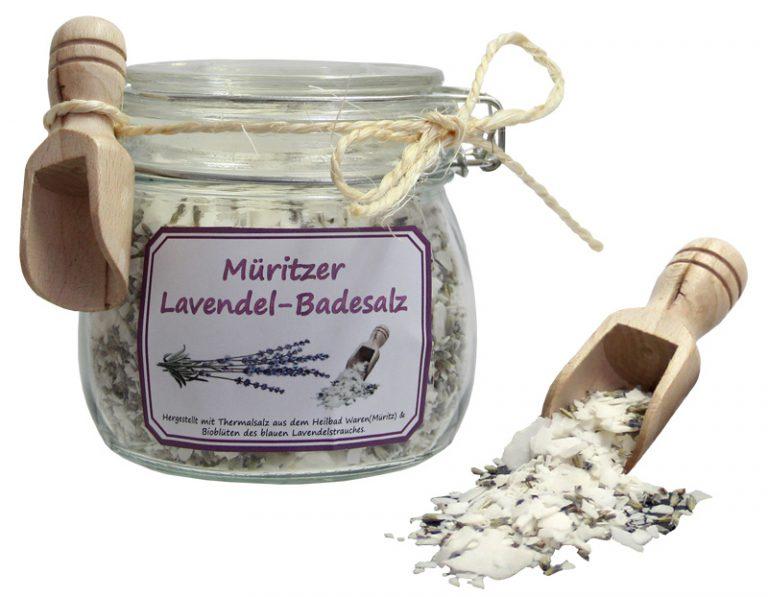 Müritzer Lavendelbadesalz