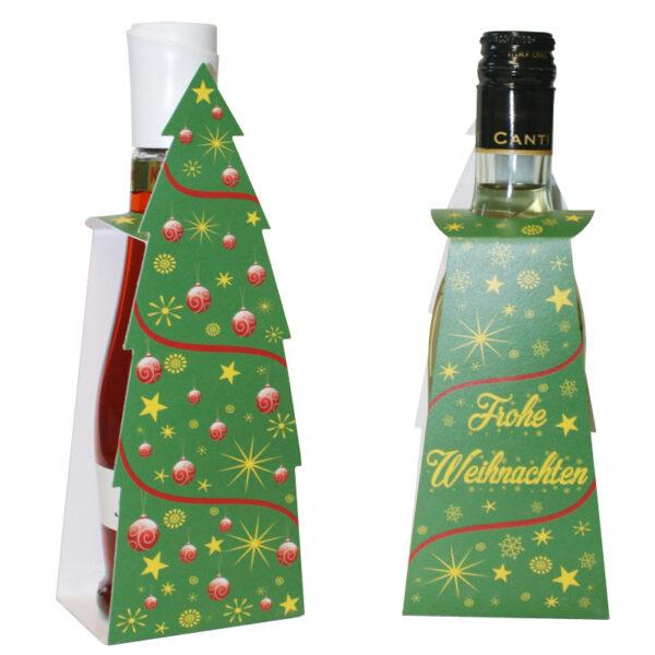 Sektbaum Motiv Weihnachten